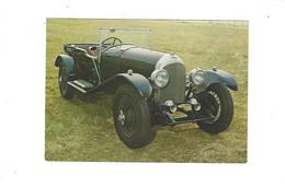 THEME VOITURES  48 BENTLEY 1926 MUSEES AUTO DU MANS ET DE CHATELLERAULT  ****  RARE  A  SAISIR  ******* - Turismo