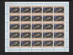 BUZIN / MAURITANIE 1986 /  Y&T 592  / SERIE 'POISSONS' / DORADE / ETAT IMPECCABLE - 1985-.. Pájaros (Buzin)