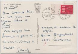 Marianne De BEQUET 1,00 Bord De Feuille Indication Presse TD6 - 6  Oblitération Cachet A9 BARRETTALI CORSE 1976 SUP! - 1971-76 Marianna Di Béquet