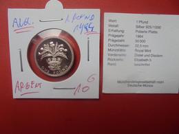 GRANDE-BRETAGNE 1 POUND 1984 ARGENT (A.17) - 1 Pound