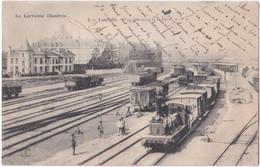 54. LUNEVILLE. Vue Intérieure De La Gare. 2 - Luneville