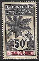 HAUT-SENEGAL-ET-NIGER N°13 N* - Unused Stamps