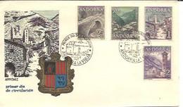 FDC 1963 MARCA  ARRONIZ - Storia Postale