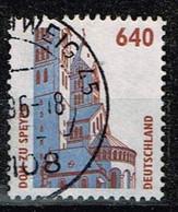 Bund 1995,Michel# 1811 O Sehenswürdigkeiten: Dom Zu Speyer - Gebraucht