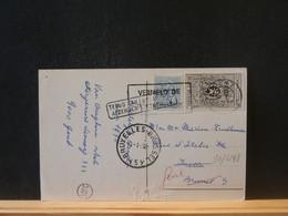 91/448  CP BELGE  TERUG NAAR AFZENDER - Belgium