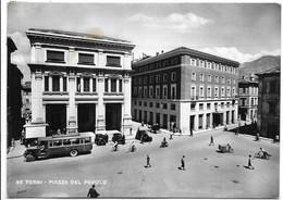 Terni - Piazza Del Popolo - Corriera, Autobus. - Terni