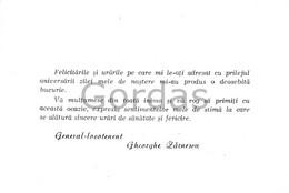 Romania - Communist Propaganda - Military - General Zarnescu - 150x100mm - Anuncios