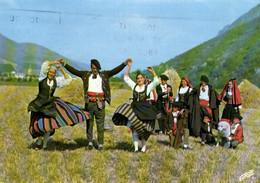 """E 1871 - Folklore  Les Pastouelles De Campan (65) Groupe De Danses Du Haut Pays De Bigorre   """" Le Tourbillon """" - Personajes"""