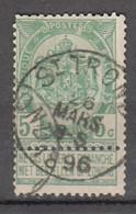 N° 56 OBLITERATION  ST-TROND - 1893-1907 Stemmi