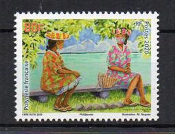 POLYNESIE FRANCAISE - FRENCH POLYNESIA - 2020 - VAHINES MASQUEES - MASKED POLYNESIAN GIRLS - COVID - - Nuevos