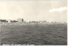 RICCIONE (RIMINI) - La Spiaggia Vista Dal Mare - Rimini