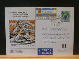 91/479 CP SLOVENSKO 2005  POUR LA BELG. VIGNETTE - Ohne Zuordnung