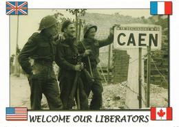 Débarquement En Normandie Juin 1944 (carte Vierge) - Weltkrieg 1939-45