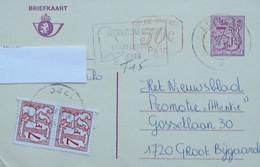 België 1982 Bijfrankering 50c P010 - Strafport 14fr - Postage Due