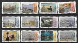 2013 - 96 - 825 à 836 - Avant Et Aprés L'impressionnisme - Oblitéré - Luchtpost