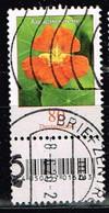 Bund 2019,Michel# 3469 R O Blumen: Kapuzinerkresse Mit EAN-Code Und Nr. 120 - [7] Repubblica Federale