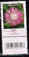 Bund 2019,Michel# 3470 R O Blumen: Flockenblume Mit EAN-Code Und Nr. 305 - [7] Repubblica Federale