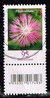 Bund 2019,Michel# 3470 R O Blumen: Flockenblume Mit EAN-Code Und Nr. 370 - [7] Repubblica Federale