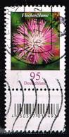 Bund 2019,Michel# 3470 R O Blumen: Flockenblume Mit EAN-Code Und Nr. 345 - [7] Repubblica Federale