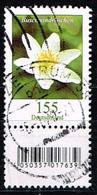 Bund 2019,Michel# 3472 R O Blumen: Buschwindröschen Mit  EAN-Code Und Nummer 130 - [7] Repubblica Federale