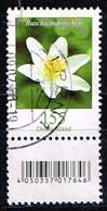 Bund 2019,Michel# 3472 R O Blumen: Buschwindröschen Mit  EAN-Code Und Nummer 105 - [7] Repubblica Federale