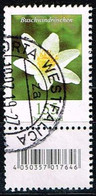 Bund 2019,Michel# 3472 R O Blumen: Buschwindröschen Mit  EAN-Code Und Nummer Xxx (Verwischt) - [7] Repubblica Federale