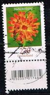 Bund 2019,Michel# 3475 R O Blumen: Habichtskraut Mit  EAN-Code Und Nummer Xxx (Verwischt) - [7] Repubblica Federale
