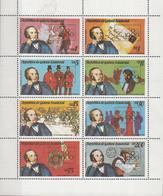 Guinea Equatoriale 1979 MI. 1557/1564 London Philatelic Exhibition R. Hill Block Sheet Perf. Nuovo - Rowland Hill