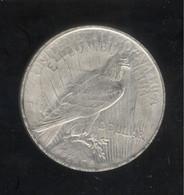 Fausse 1 Dollar Eagle USA 1921 - Tranche Striée - Exonumia - Sonstige