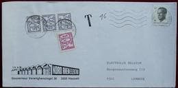 België 1992 Houthalen - Postage Due