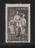 FRANCE  ( FR4 - 101 )  1943  N° YVERT ET TELLIER  N°  585   N** - Nuovi