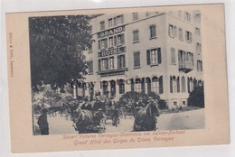 Vernayaz - Grand Hotel Des Gorges Du Trient - Départ Des Voitures        (01016) - VS Valais