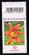 Bund 2020,Michel# 3509 ** Blumen: Taglilie, Mit EAN-Code - [7] Repubblica Federale