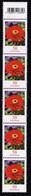 Bund 2020,Michel# 3535 ** Blumen: Zinnie Mit EAN-Code Und Nr. 475   500er Rolle - [7] Repubblica Federale