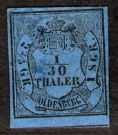 Elsfleth Auf 1/10 Thaler Blau - Oldenburg Nr. 2 I - Oldenburg