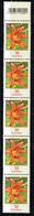 Bund 2020,Michel# 3509 ** Blumen: Taglilie, Mit EAN-Code Nr. 75   5er-Streifen - [7] Repubblica Federale