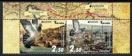 """BOSNIA I HERZEGOVINA / BOSNIA SARAJEVO - EUROPA 2020 -""""ANTIGUAS RUTAS POSTALES - ANCIENT POSTAL ROUTES"""" - SERIE 2 V.- CH - 2020"""