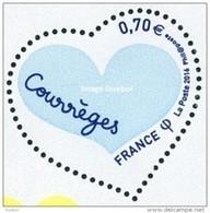 France N° 5028 ** Coeur De Courrèges Le Bleu Foncé Nd - Frankreich
