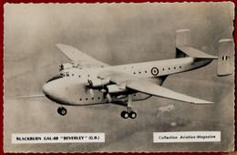 CP Aviation - Collection Aviation-Magazine BLACKBURN GAL.60 BEVERLEY GB (IT#243) - ....-1914: Précurseurs