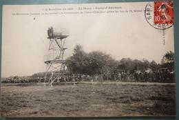 170 L'AVIATION EN 1908 LE MANS 72 CAMP D'AUVEURS - LE BELVEDERE - AERO-CLUB - VOL WILBUR WRIGHT - Non Classificati