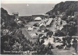 Varazze Invrea. Camping Portigliolo. Liguria, Savona. Grand Format. Vraie Photo Années 60, Vintage - Savona
