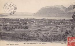 74. SAINT JORIOZ. CPA. VUE GENERALE. ANNÉE 19°8 + TEXTE. - Other Municipalities
