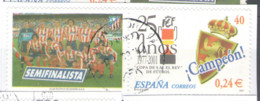 Spain 2001 Used, Football, Soccer, The 25th Anniversary Of Copa Del Rey - 2001-10 Usados