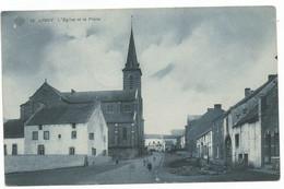Ligny - L'Eglise Et La Place - SBP 12 - Sombreffe - Fleurus - Tongrinne - Brye - 1910 - Unclassified