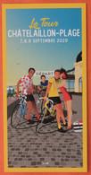 Cyclisme :  Tour De France 2020  à Chatelaillon - Plage , Ville Départ, Illustration Doz - Ciclismo