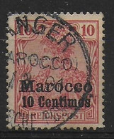 Deutsches Reich Auslandpostamtër Marocco 1900 9 - Deutsche Post In Marokko