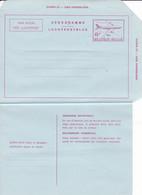 AEROGRAMME -8 Boeing - Stamped Stationery