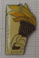 JO ALBERTVILLE 92 1992 PARCOURS DE LA FLAMME à VILLERVILLE Le 27-12-91  Dpt 14 CALVADOS - Olympic Games