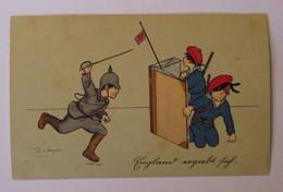 Kinder, Soldaten, Deutschland, England, 1916, Serie W.H.S. ♥  - Sonstige