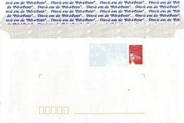 PAP Luquet Variete De Confection Imprimé Au Dos - Prêts-à-poster:Stamped On Demand & Semi-official Overprinting (1995-...)